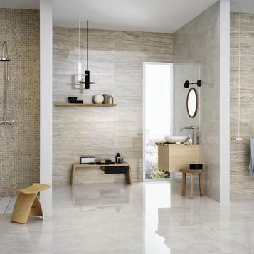 carrellage salle de bain imitation marbre marazzi_726