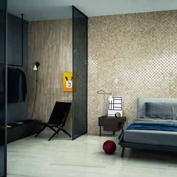 carrelage format moyen chambre coucher marazzi. Black Bedroom Furniture Sets. Home Design Ideas