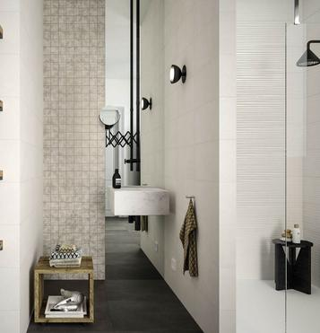 carrelage grand format imitation b ton marazzi. Black Bedroom Furniture Sets. Home Design Ideas