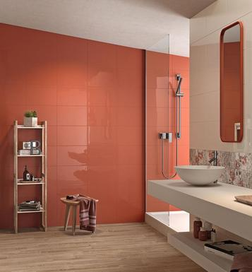 Chroma: Carrelage orange : voir les collections  - Marazzi
