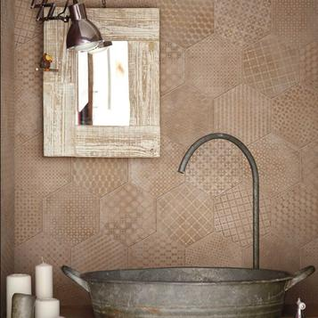 carrelage: rose salle de bain | marazzi - Carrelage Rose Salle De Bain