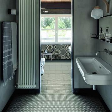 carrelage: sol et mur salle de bain | marazzi - Carrelage Mur Et Sol Salle De Bain