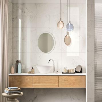 carrellage salle de bain imitation marbre marazzi_770