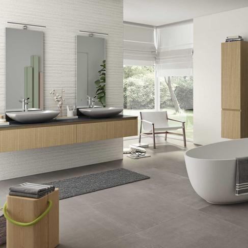 Essenziale Carrelage Blanc Pour Salle De Bain Structures 3d