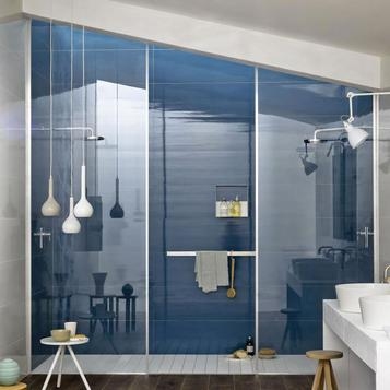 Carrelage Bleu Salle De Bain  Marazzi