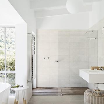 carrelage: grand format salle de bain | marazzi - Faience Salle De Bain Grand Format