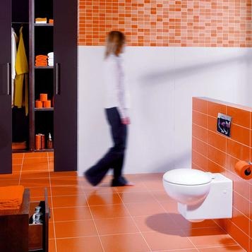 Carrelage orange salle de bain marazzi - Carrelage salle de bain orange ...