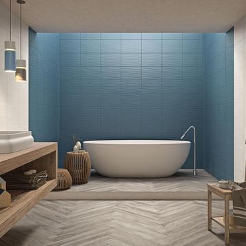 carrelage: bleu salle de bain | marazzi - Carrelage Bleu Salle De Bain
