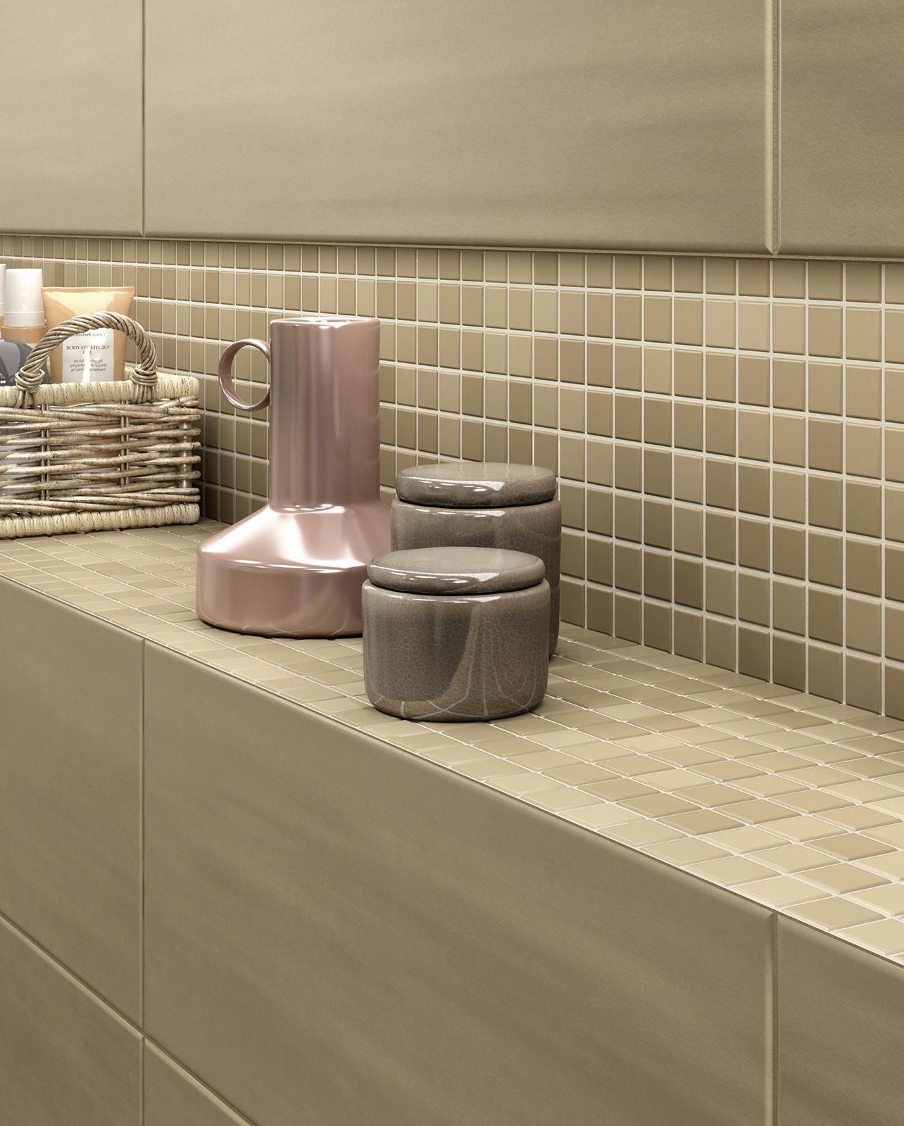 Salle De Bain Couleur Beige ~ paint rev tement salle de bain et cuisine marazzi