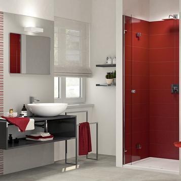 carrellage salle de bain rouge marazzi_702