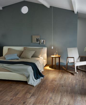 Finest carrellage chambre coucher sol et mur marazzi with carrelage chambre coucher - Peinture stucco chambre a coucher ...