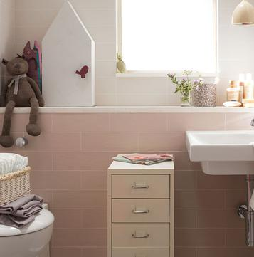 Weekend: Carrelage rose: voir les collections  - Marazzi