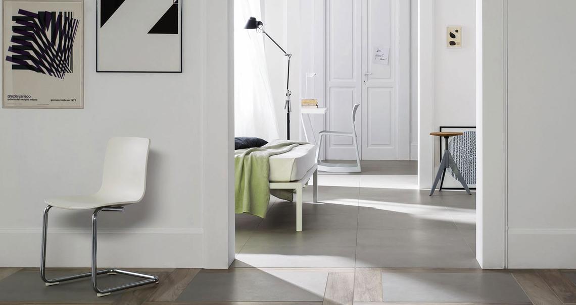 Block carrelages gr s c rame marazzi for Beton salon