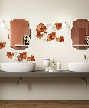 Colourline: Carrelage orange : voir les collections  - Marazzi
