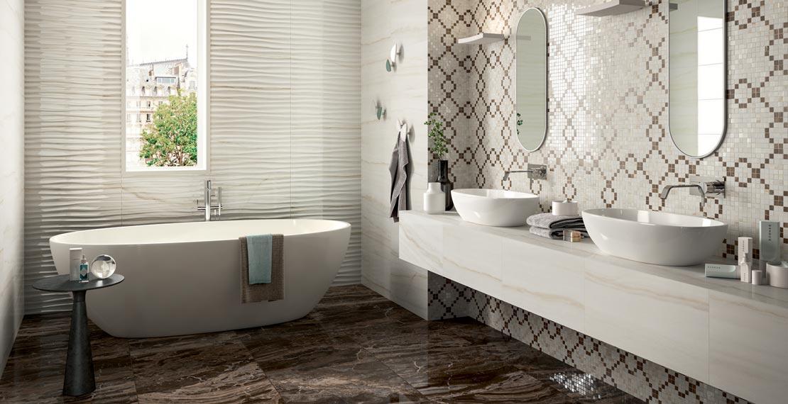 Salle de bain classique et traditionnelle marazzi - Salle de bain classique ...