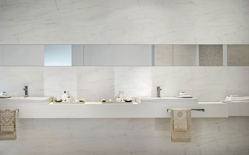 Stonevision: large, thin slabs to cover walls
