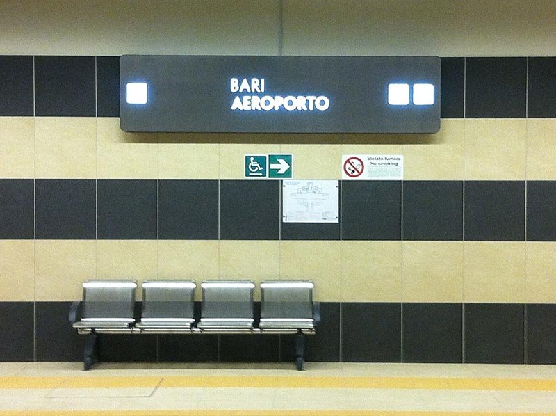 New underground connection in Bari. The project of Paolo Mossa