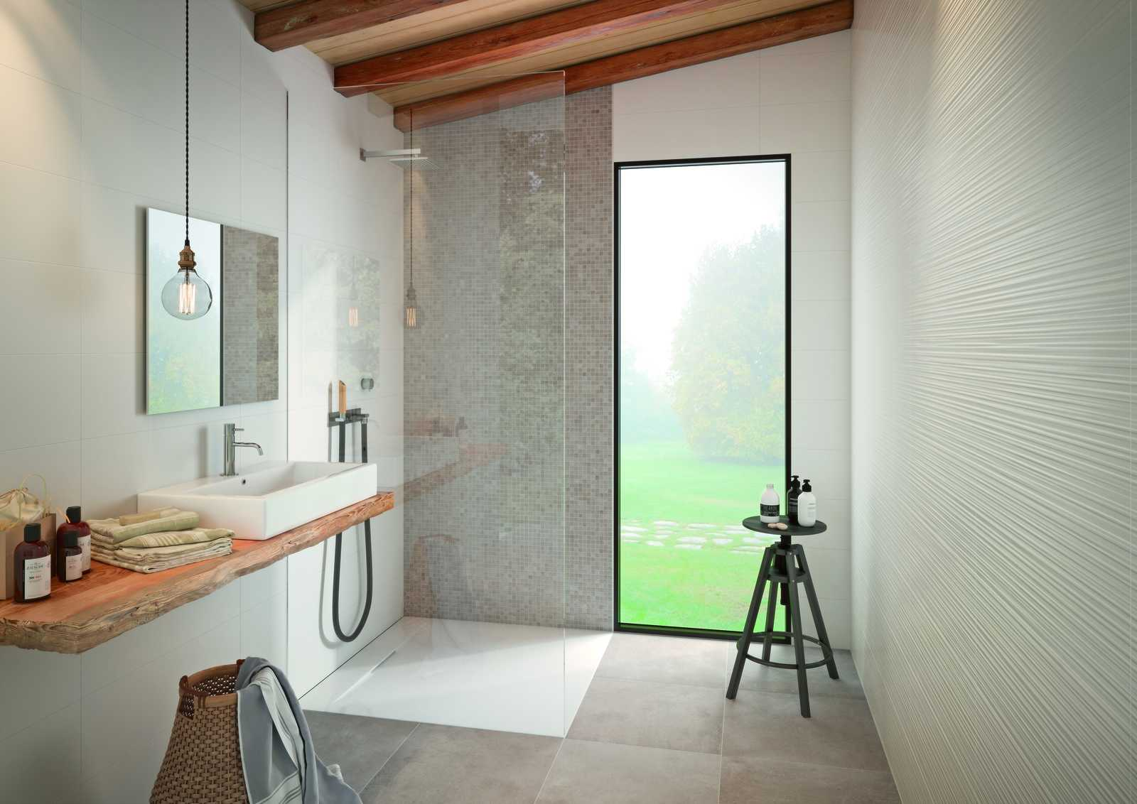 Ragno Carrelage Salle De Bain : Carrelage salle de bain céramique et grès cérame marazzi