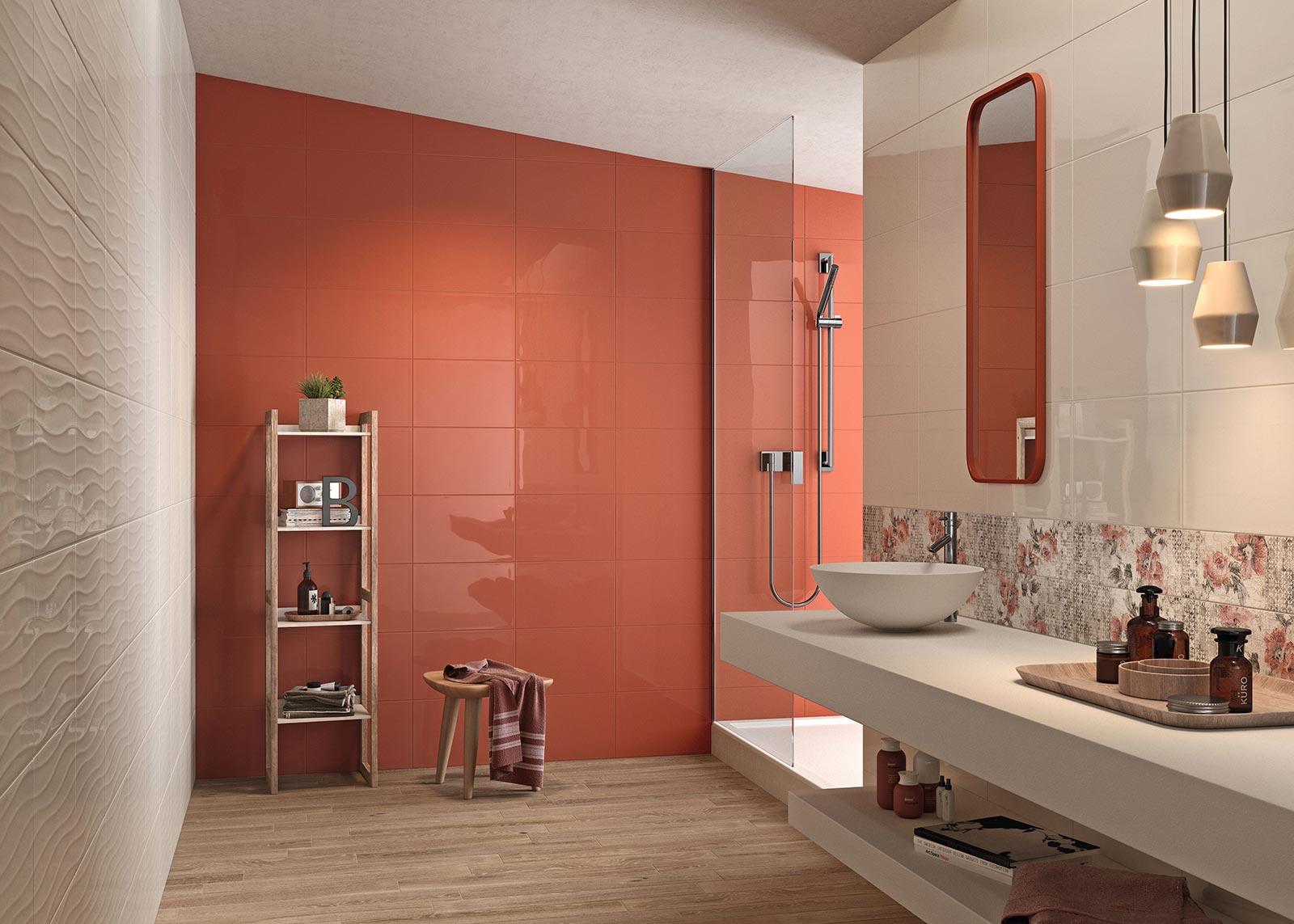 Carrelage salle de bain c ramique et gr s c rame marazzi - Mosaiques salle de bain ...