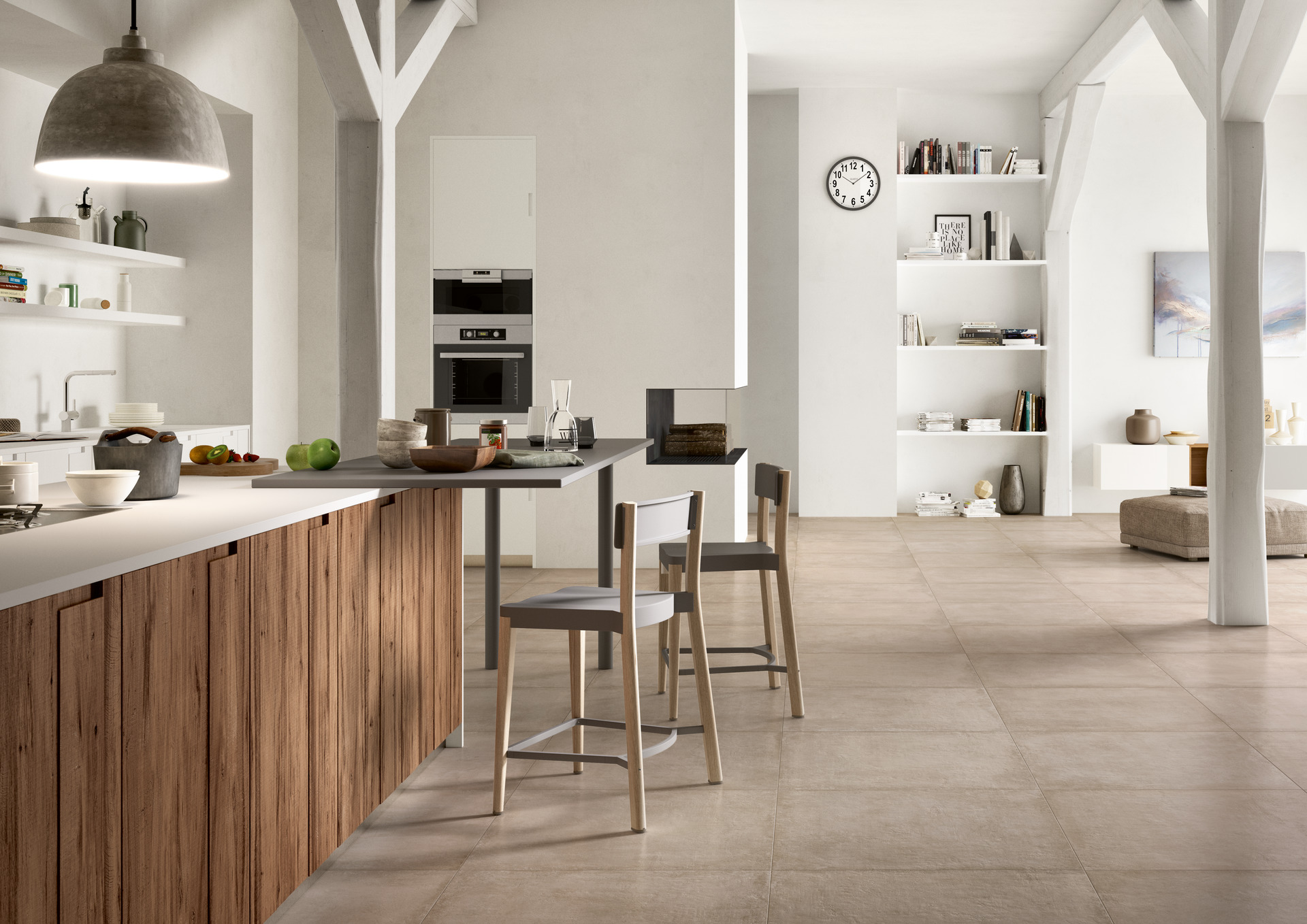 Clays gr s c rame effet terre cuite marazzi - Suelos para casas modernas ...