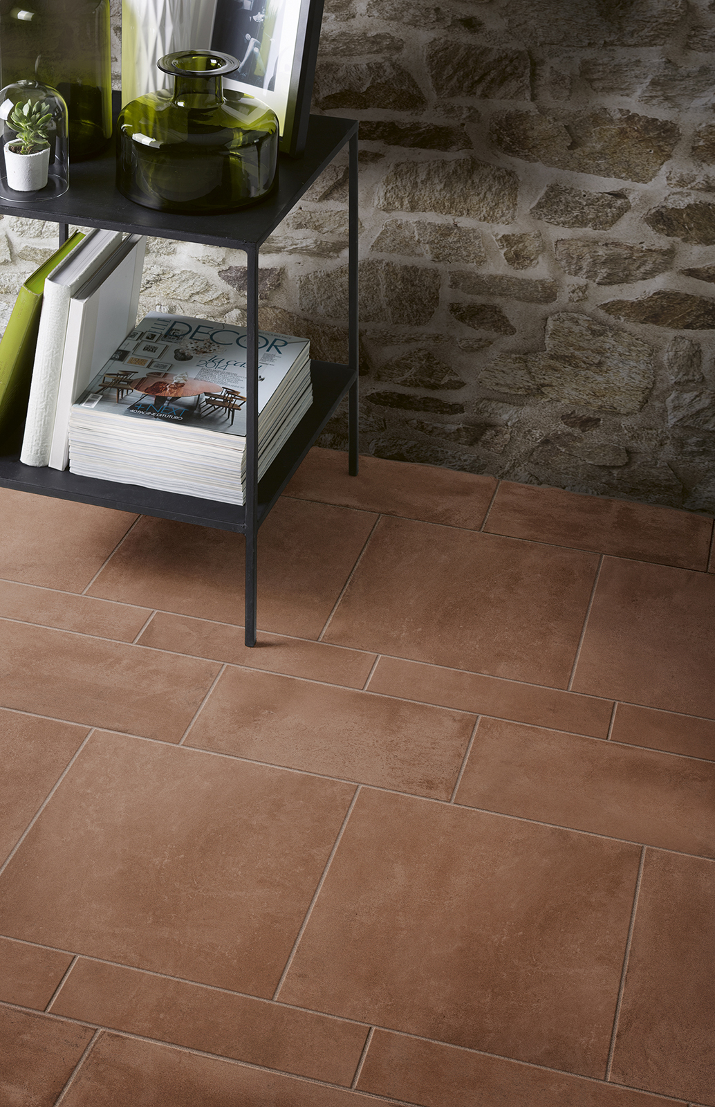 Carrelage imitation cotto et b ton marazzi for Carrelage marazzi
