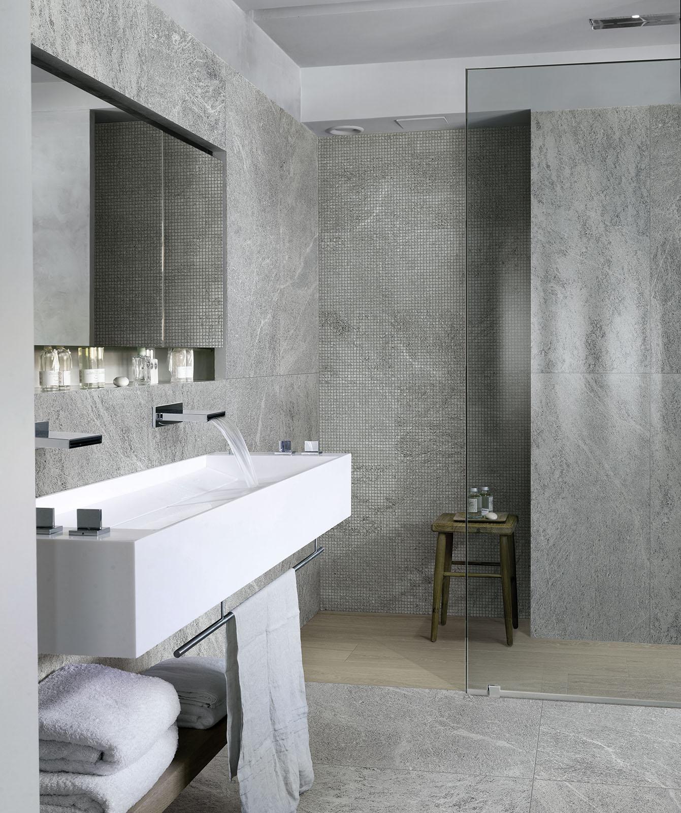 Carrelage salle de bain c ramique et gr s c rame marazzi for Carrelage bain
