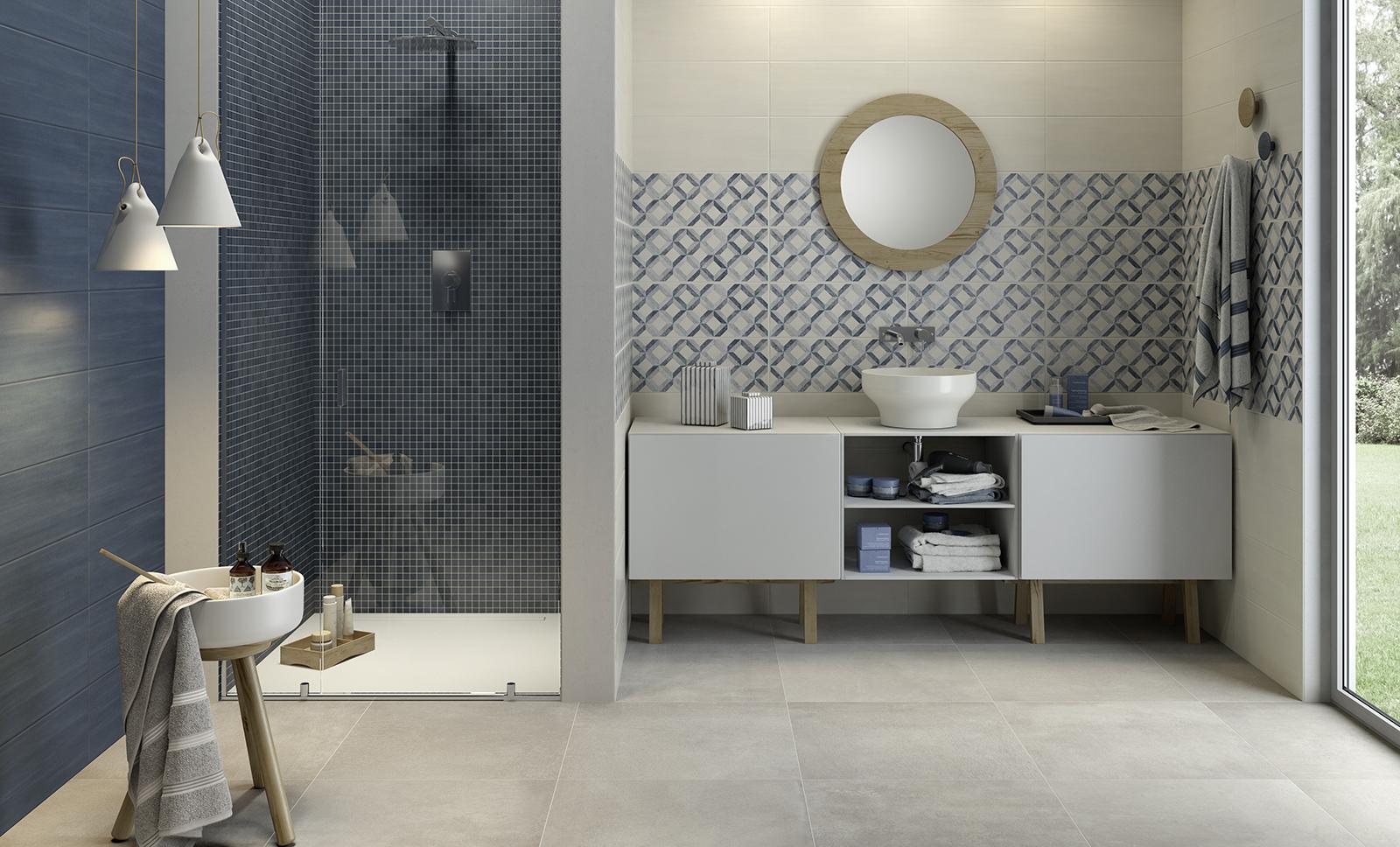 Bianco Denver Salle De Bain ~ travertino grigio porcelain tile travertino 12×24 and 17×17 kyra