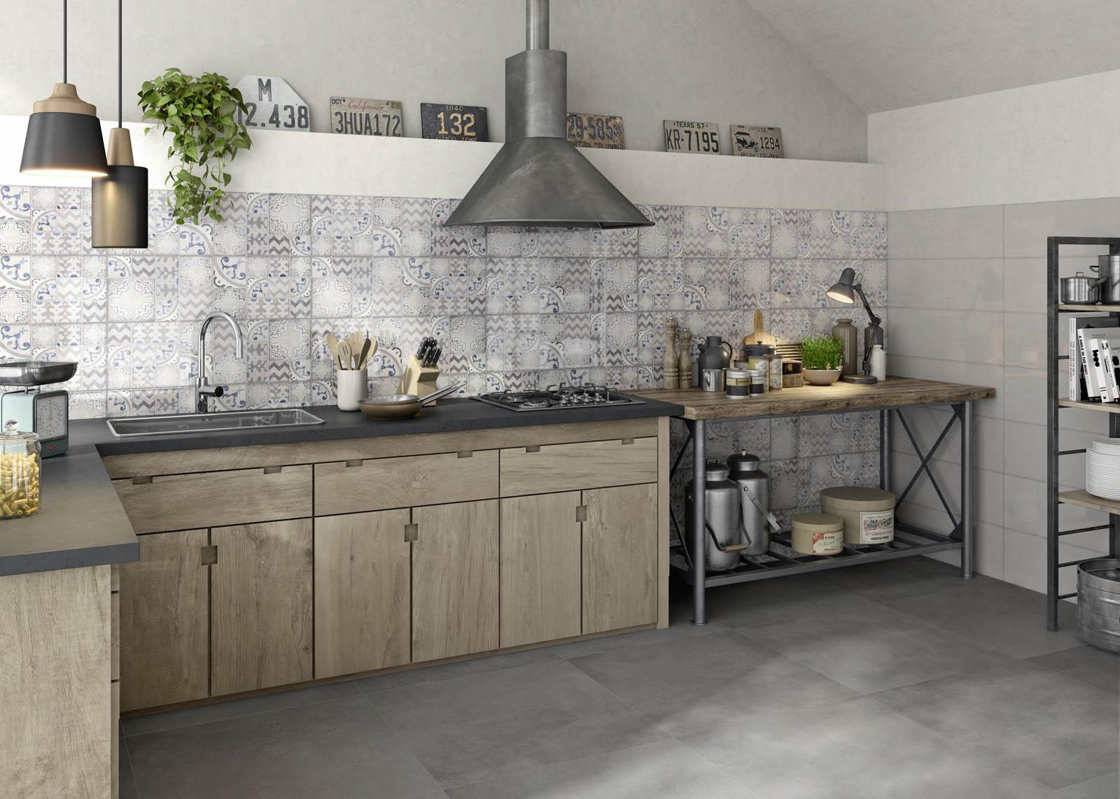 Carrelage cuisine des id es en c ramique et gr s marazzi - Decoration carrelage cuisine ...