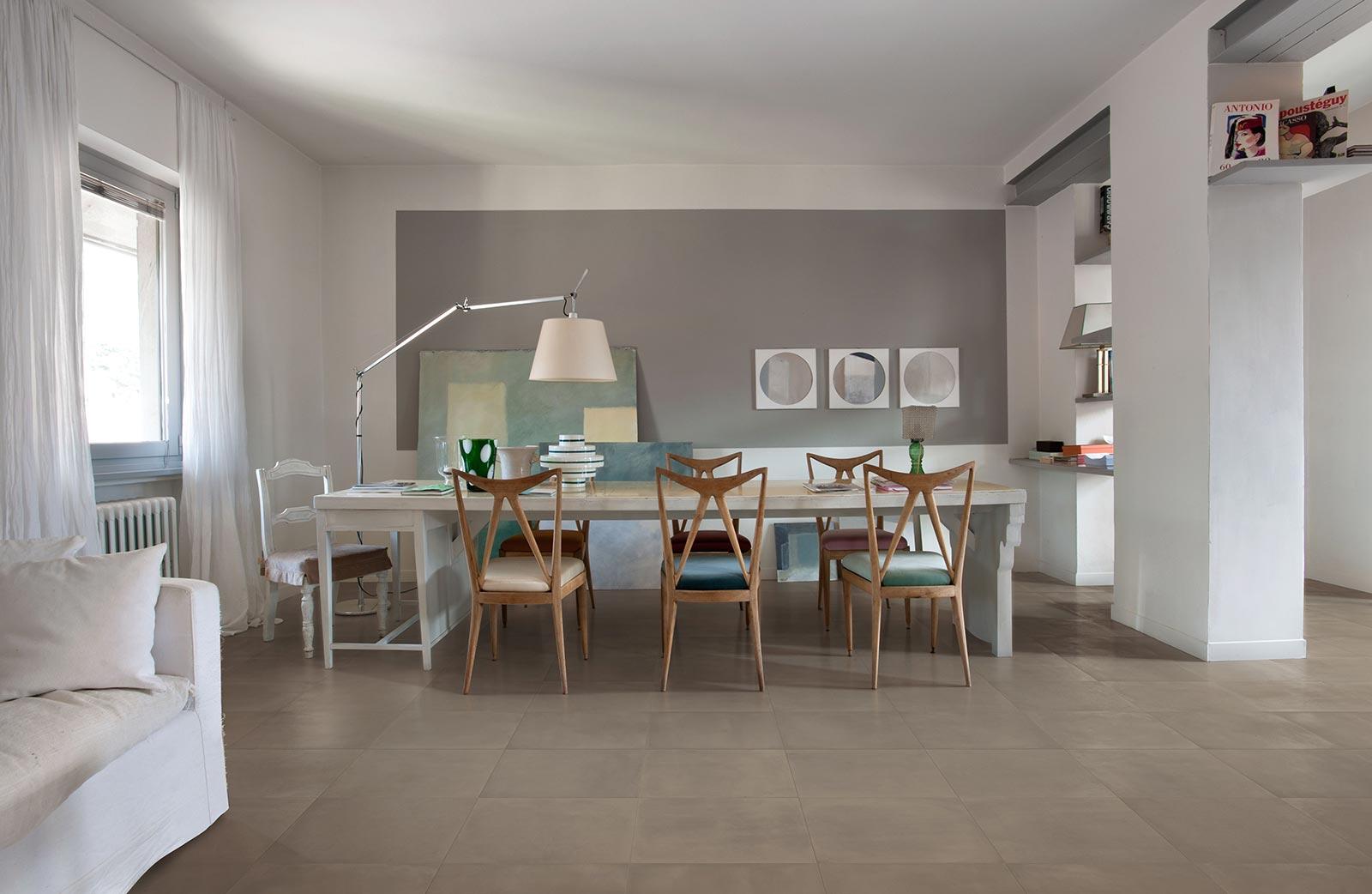 carrelage imitation cotto et b ton marazzi. Black Bedroom Furniture Sets. Home Design Ideas