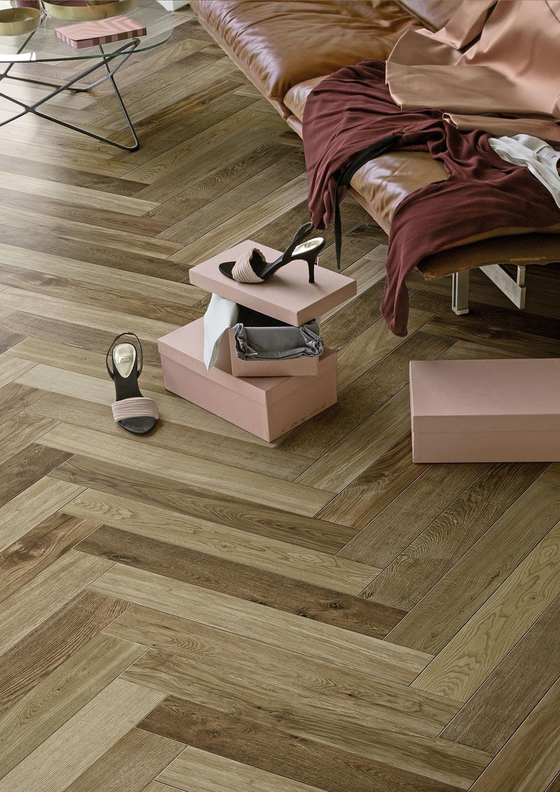 Carrelage imitation bois et parquet - Marazzi 7837