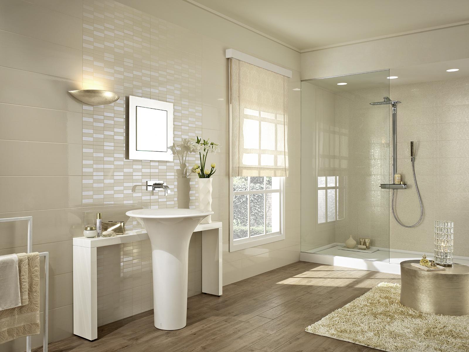Colourline c ramique polie pour salle de bain marazzi for Ceramique pour salle de bain