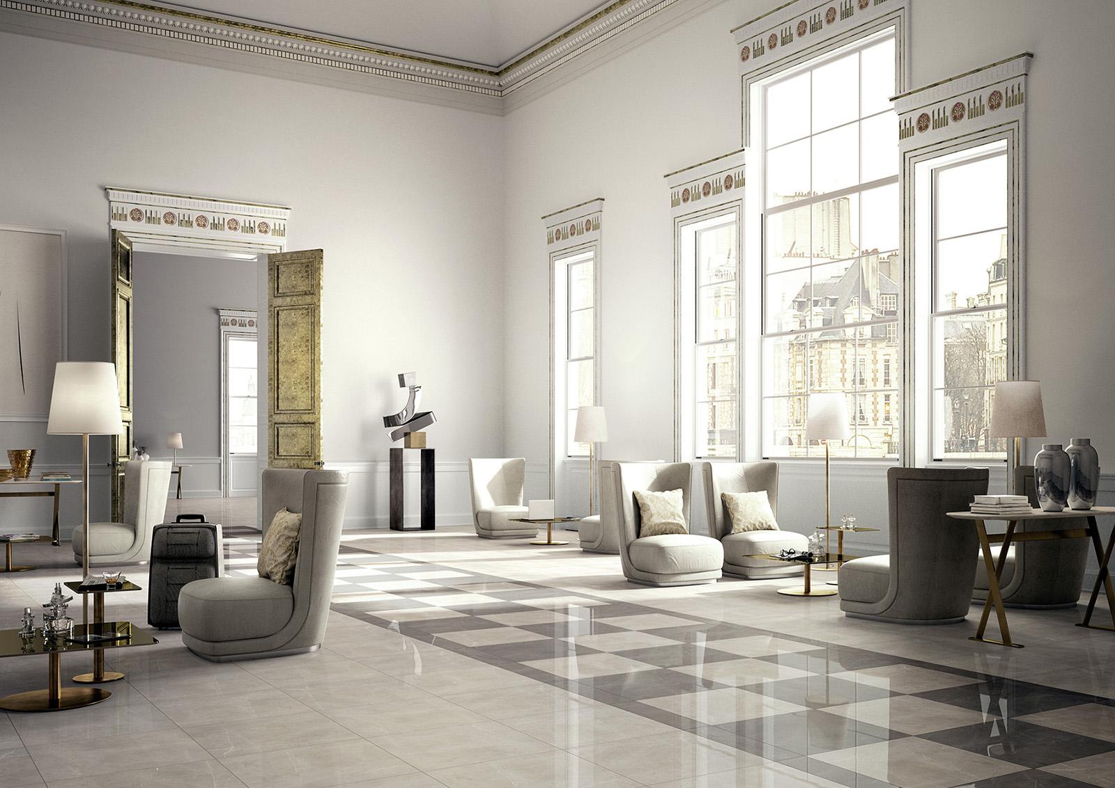 Carrelage imitation marbre voir les collections marazzi for Ambiance carrelage