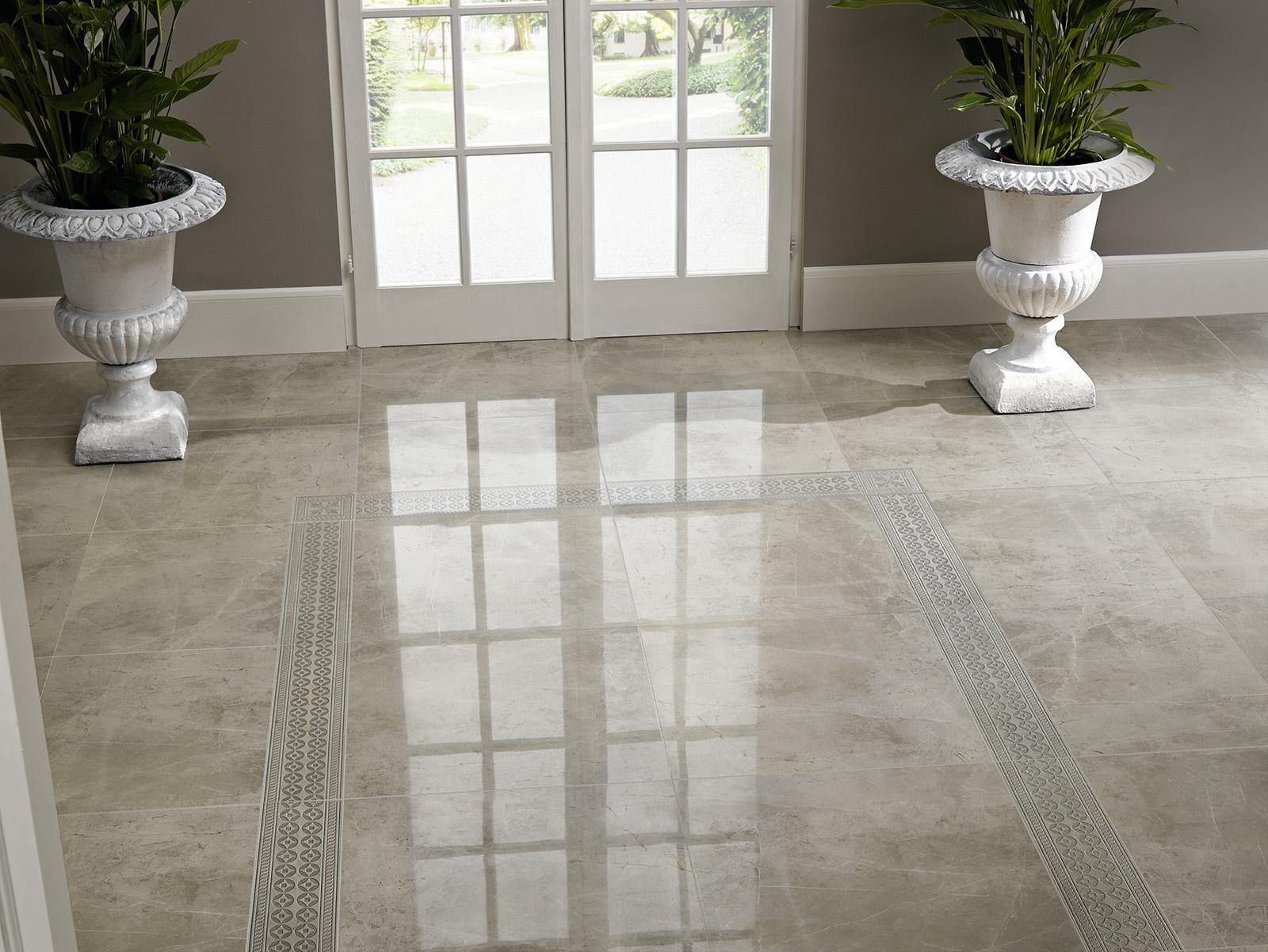 Evolutionmarble gr s c rame effet marbre marazzi for Carrelage imitation marbre blanc