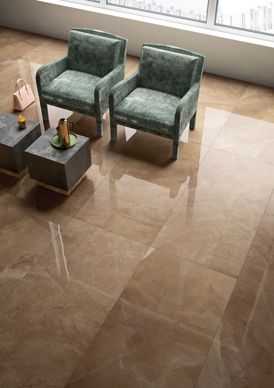 Carrelage imitation marbre voir les collections marazzi for Carrelage imitation marbre gris