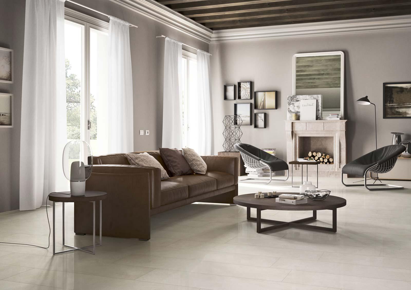 Carrelage salon inspiration d co marazzi for Inspiration salon