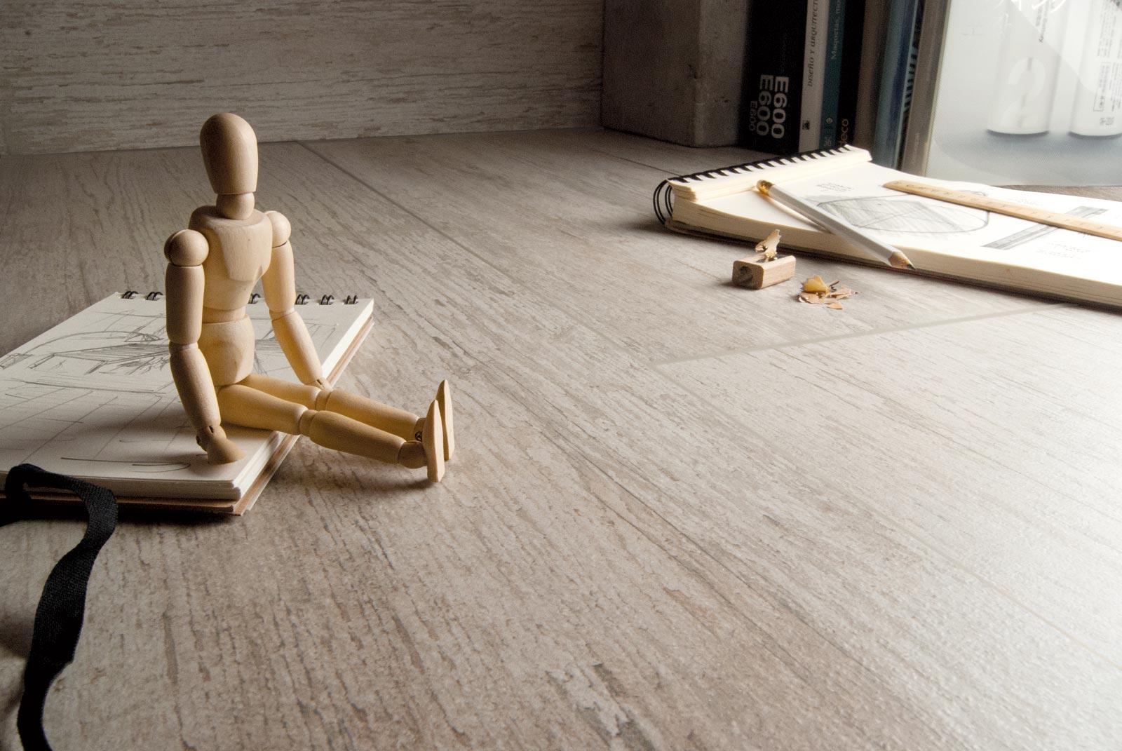 lander gr s c rame effet bois marazzi. Black Bedroom Furniture Sets. Home Design Ideas