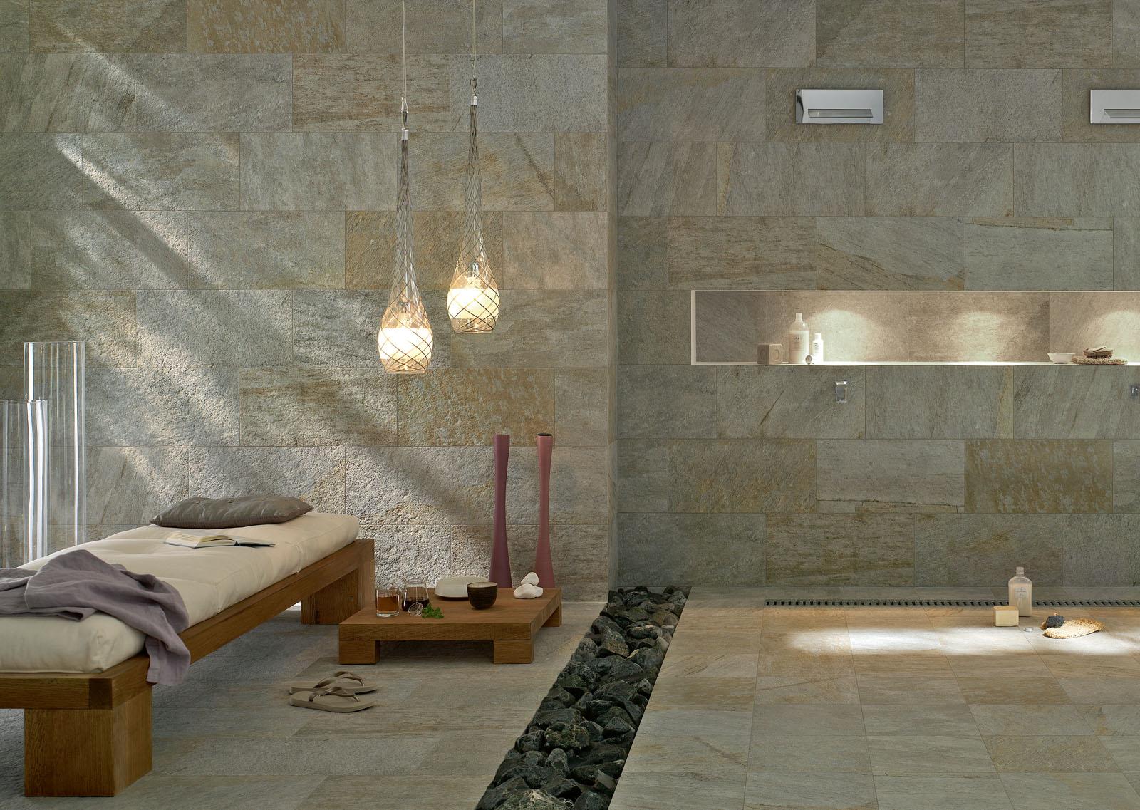 Carrelage salle de bain c ramique et gr s c rame marazzi for Oficina 7 marazzi