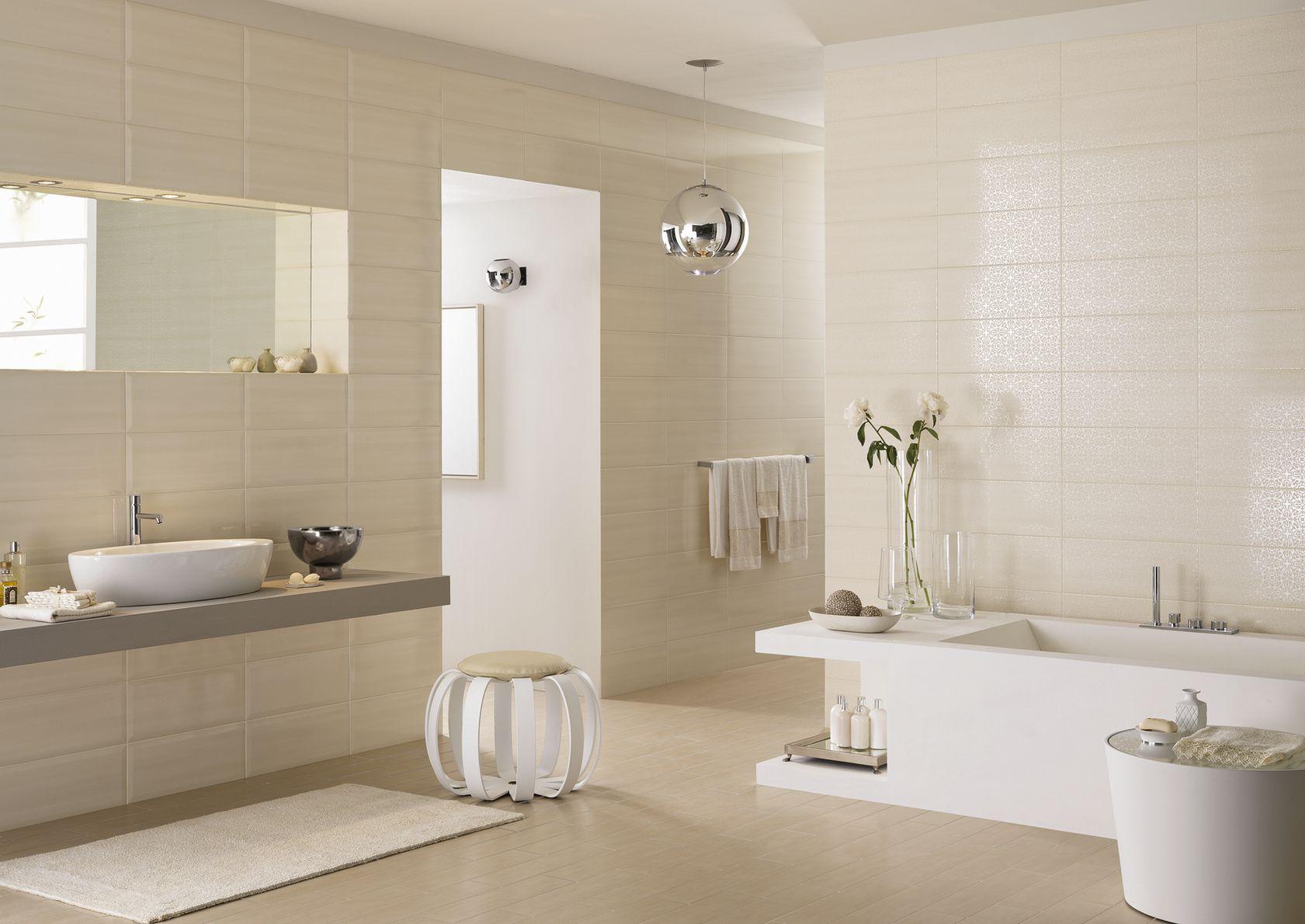 Nuance c ramique rev tements pour salle de bain marazzi - Salle de bain ceramique photo ...
