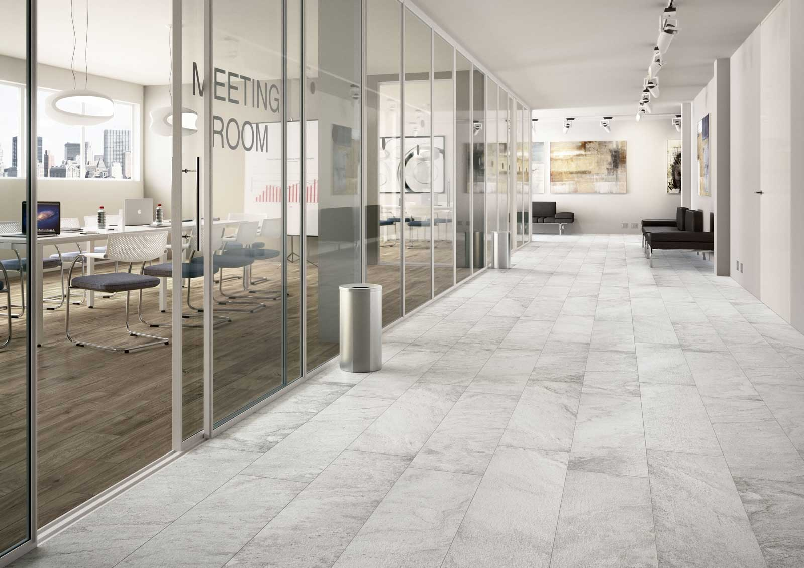 Salle De Bain Decoration Carrelage : Marazzi Verona White Ceramic Tile