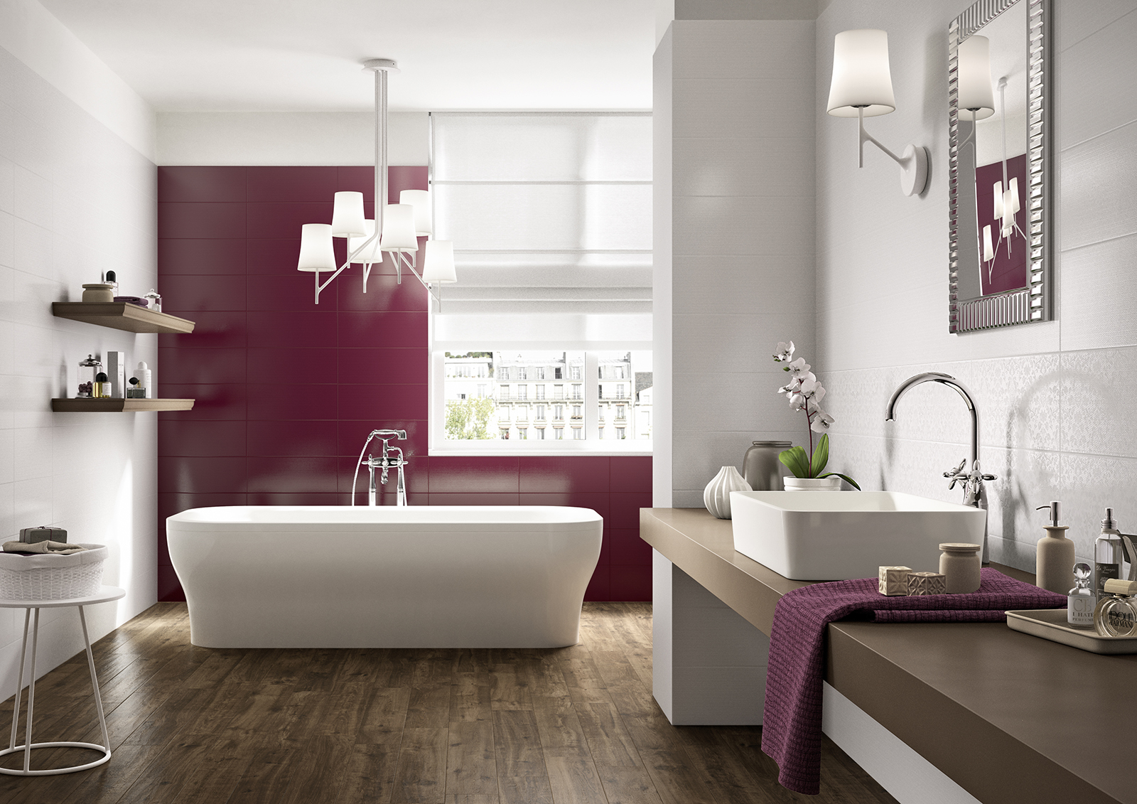 carrelage violet voir les collections marazzi. Black Bedroom Furniture Sets. Home Design Ideas