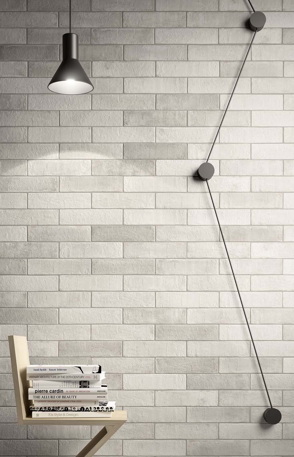 Carrelage imitation cotto et b ton marazzi for Weisse fliesen