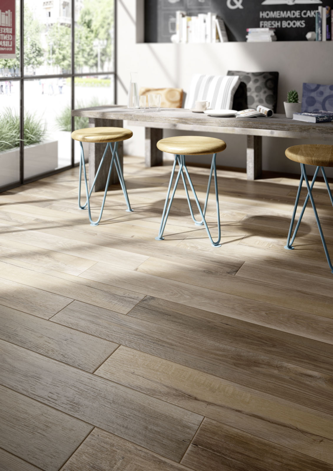 Carrelage imitation bois et parquet marazzi for Carrelages imitation parquet