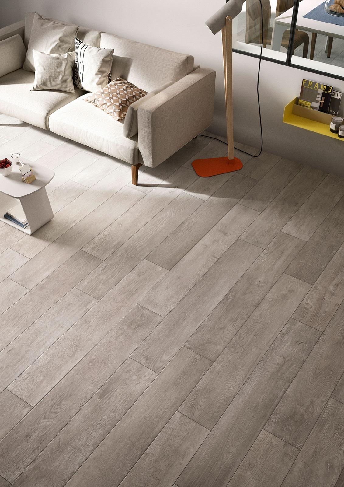 Carrelage salon inspiration d co marazzi for Modern hardwood flooring ideas