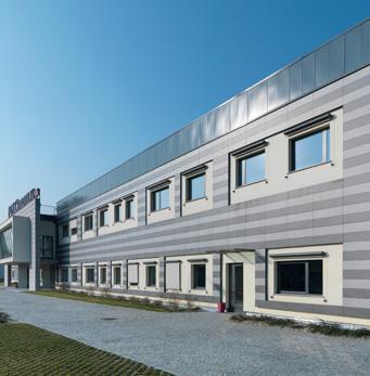 Farmaca International - les plancher façade ventilée