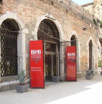 Cafétéria « dell'Arsenale » à Venise
