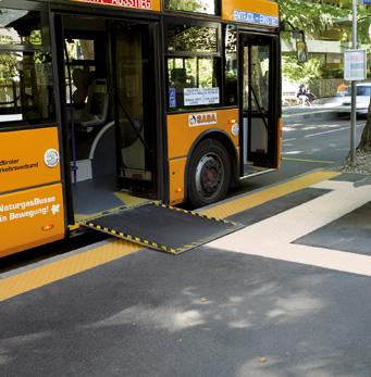 Arrêt de bus Merano à Merano