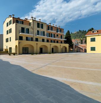 Place de Borgo Prino à Imperia