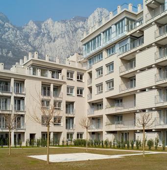 Complexe résidentiel à Lecco