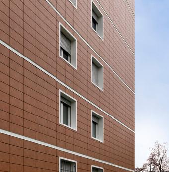 Complexe résidentiel Quartier Q43 à Turin